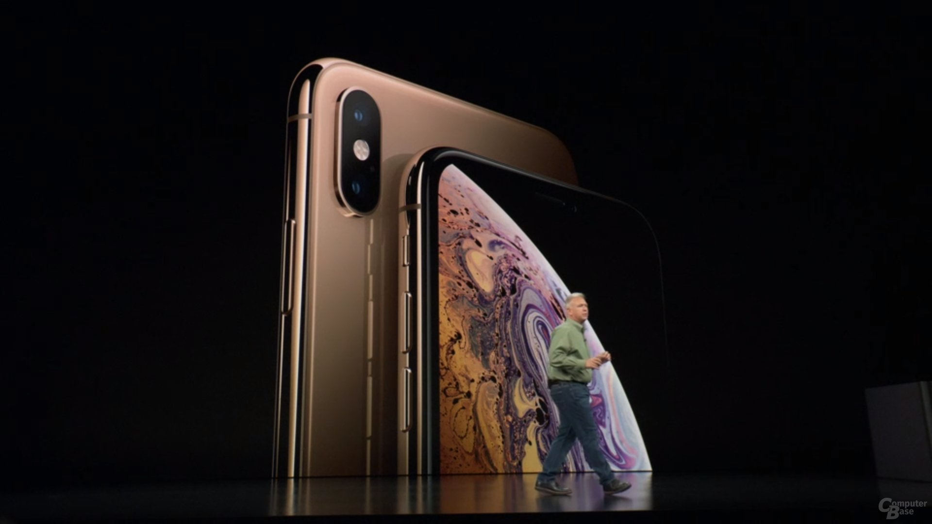Apple iPhone Xs & Xs Max – Neue Farbe Gold