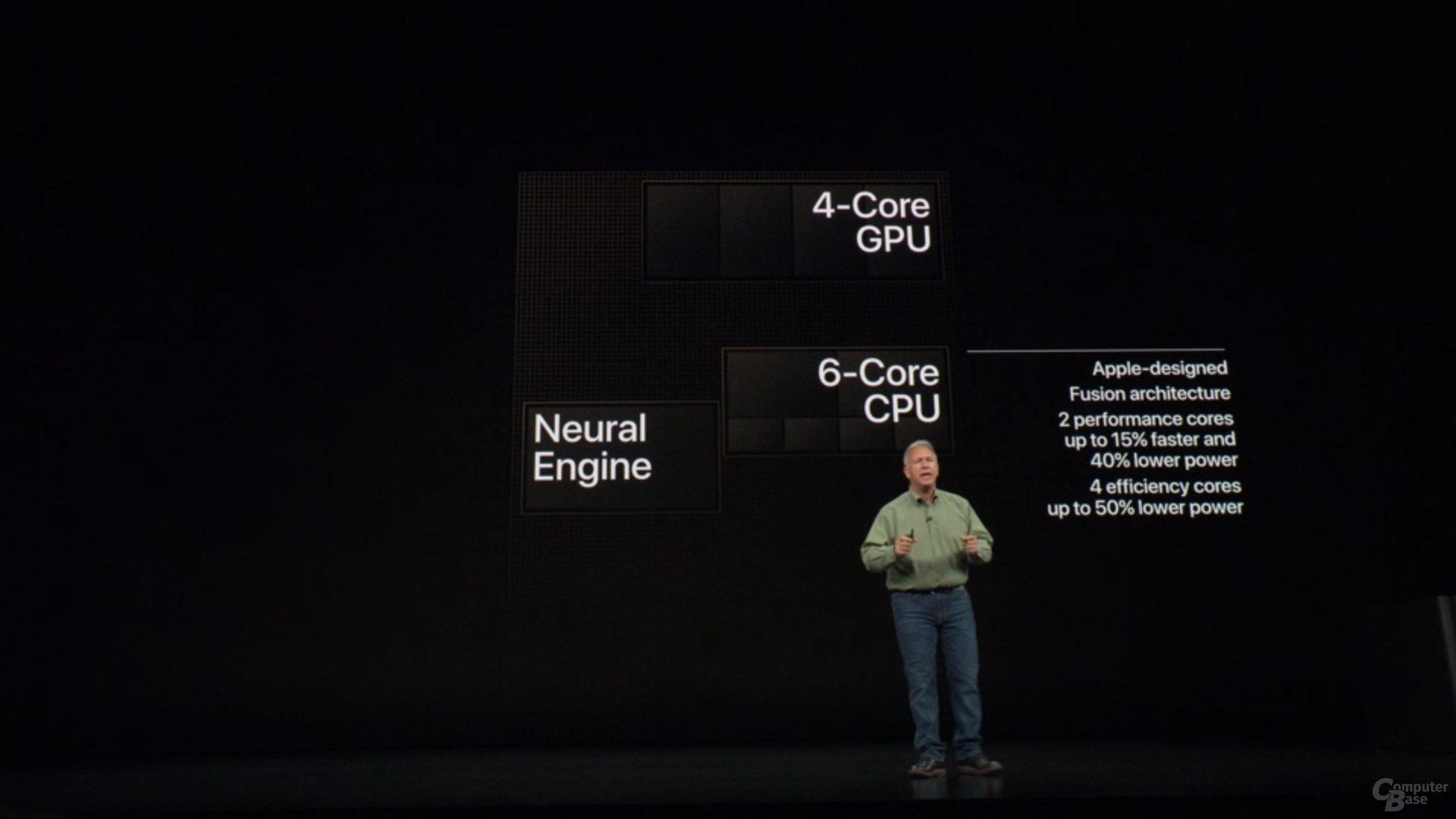 Apple iPhone Xs & Xs Max – CPU ist schneller und sparsamer