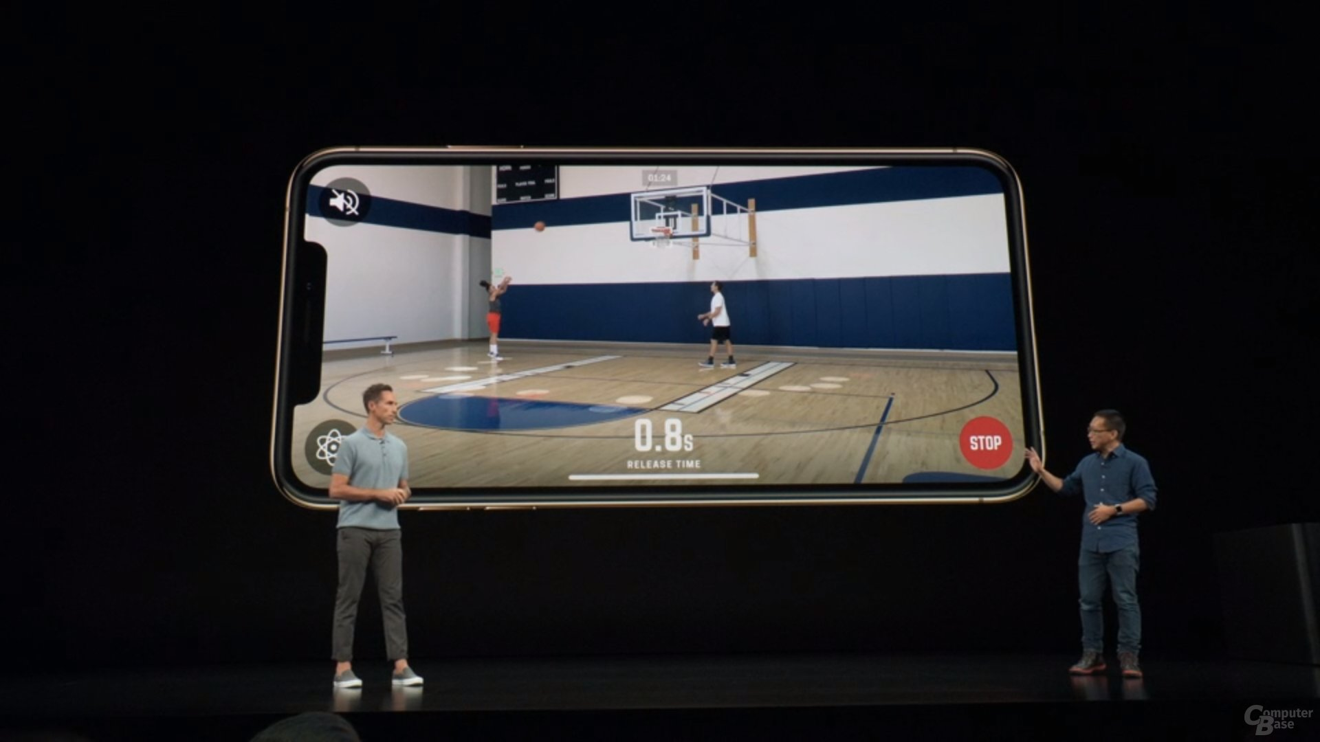 Apple iPhone Xs & Xs Max – AR-Analyse von Basketball