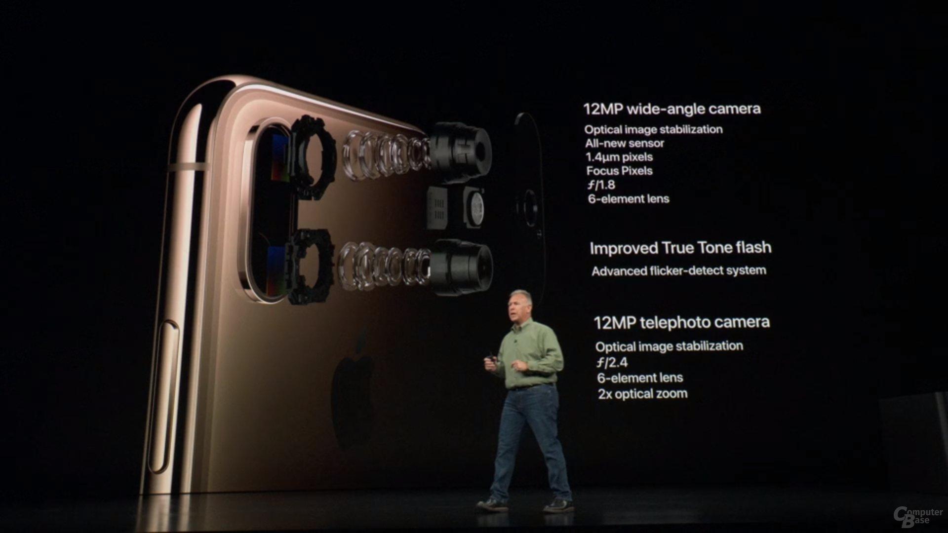 Apple iPhone Xs & Xs Max – Neue 12-MP-Dual-Kamera