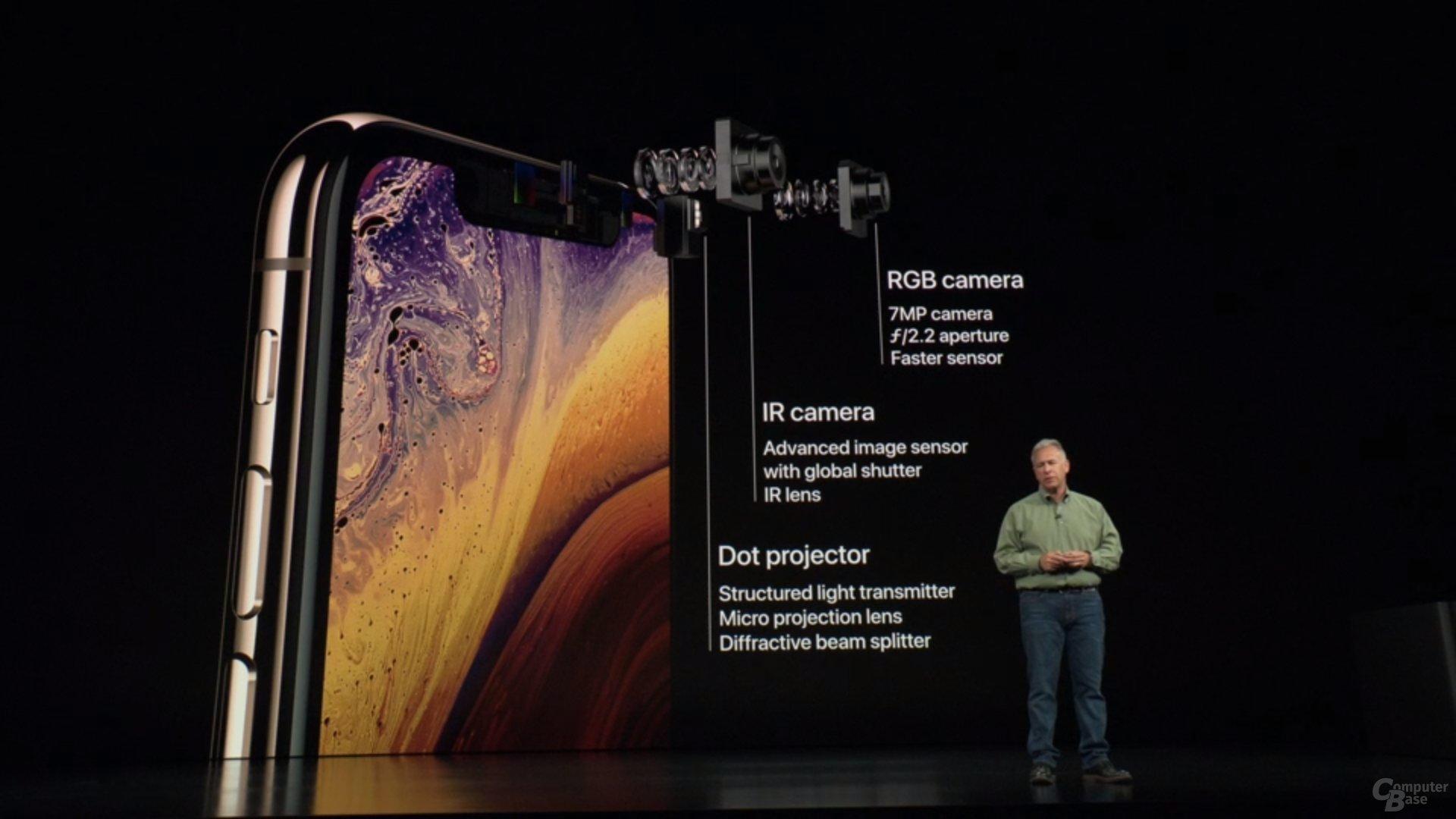 Apple iPhone Xs & Xs Max – Neue 7-MP-Frontkamera