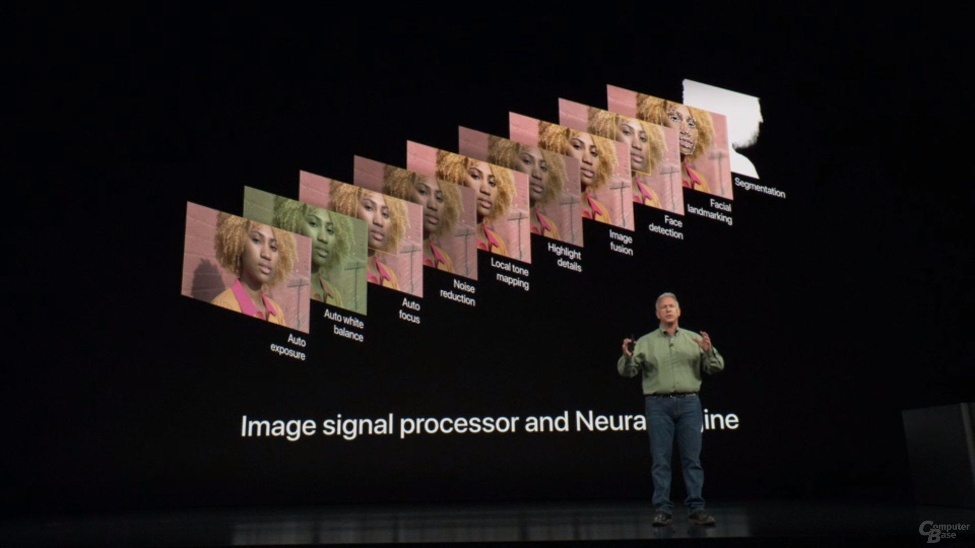 Apple iPhone Xs & Xs Max – ISP und NPU arbeiten zusammen