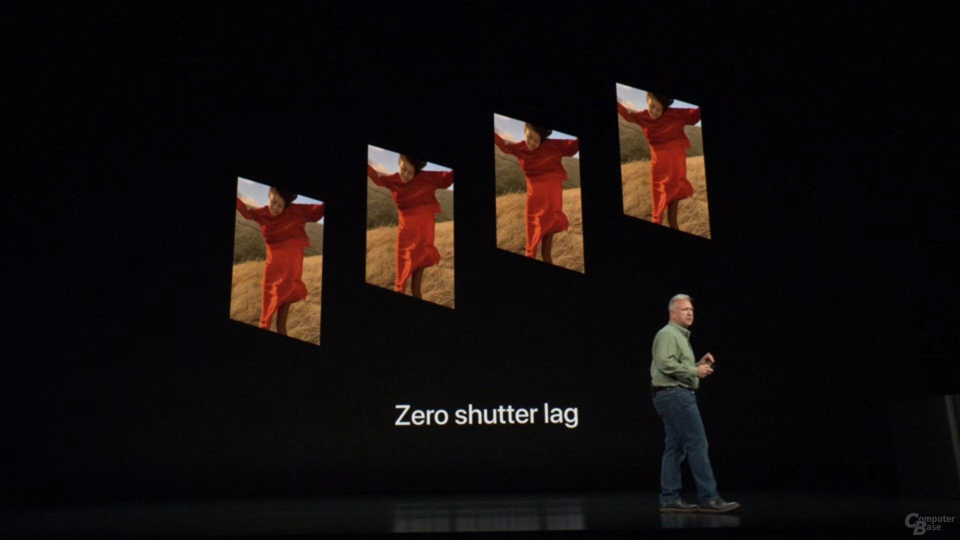 Apple iPhone Xs & Xs Max – Vier Zero-Shutter-Fotos
