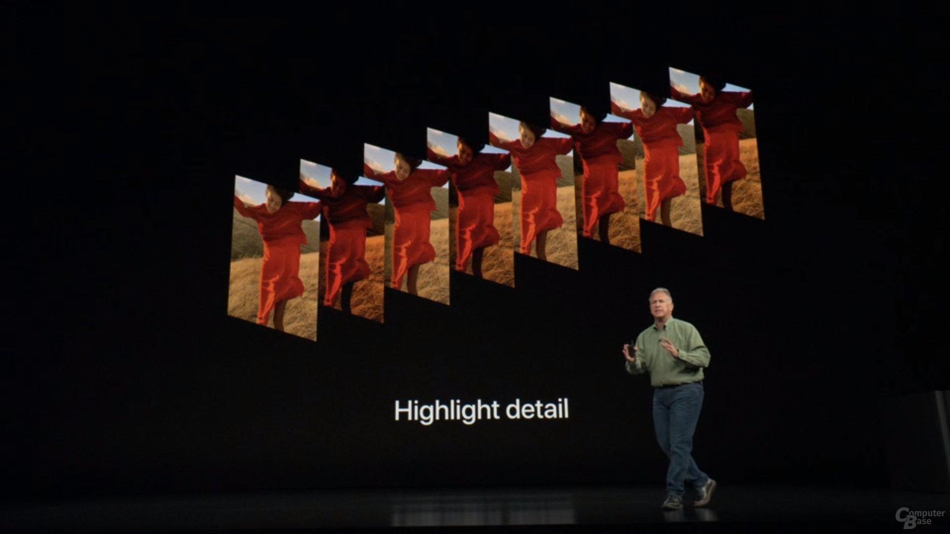 Apple iPhone Xs & Xs Max – Vier Zwischenfotos für Highlights
