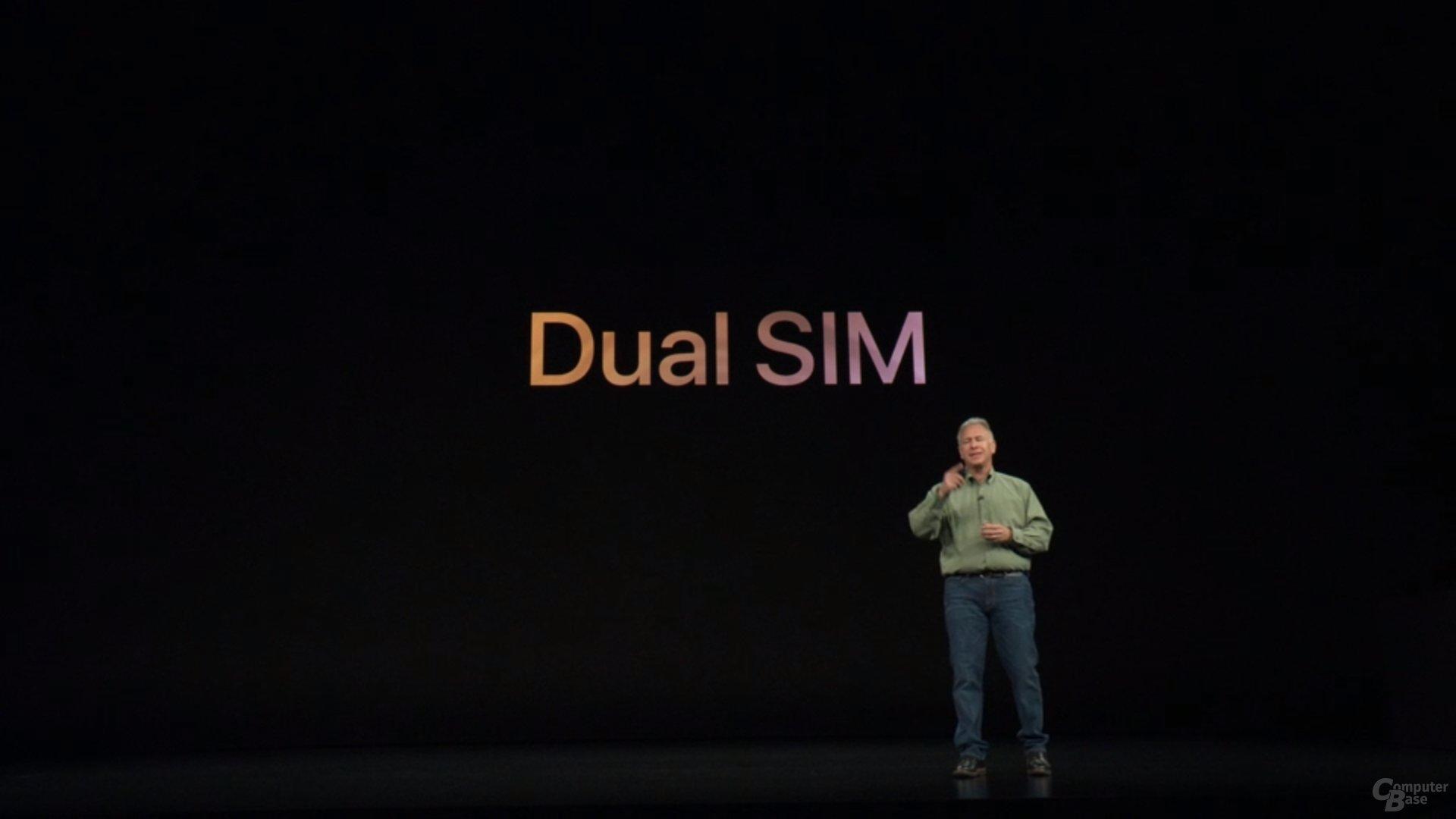 Apple iPhone Xs & Xs Max – Erstmals mit Dual SIM