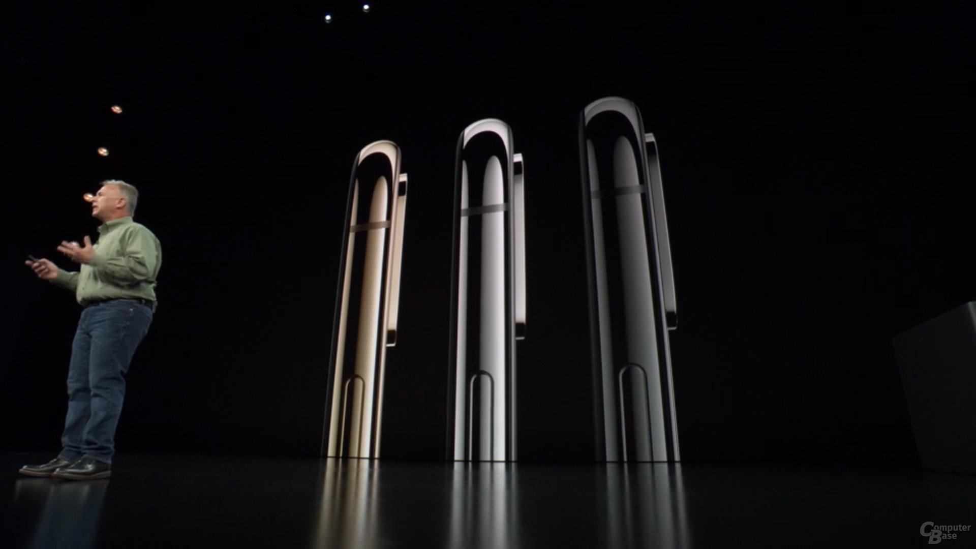 Apple iPhone Xs & Xs Max – Gold, Silber, Schwarz