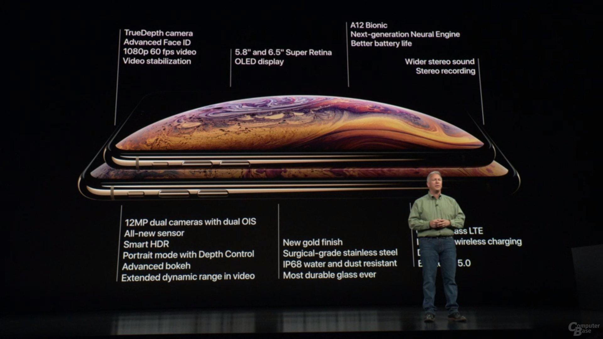 Apple iPhone Xs & Xs Max – Zusammenfassung