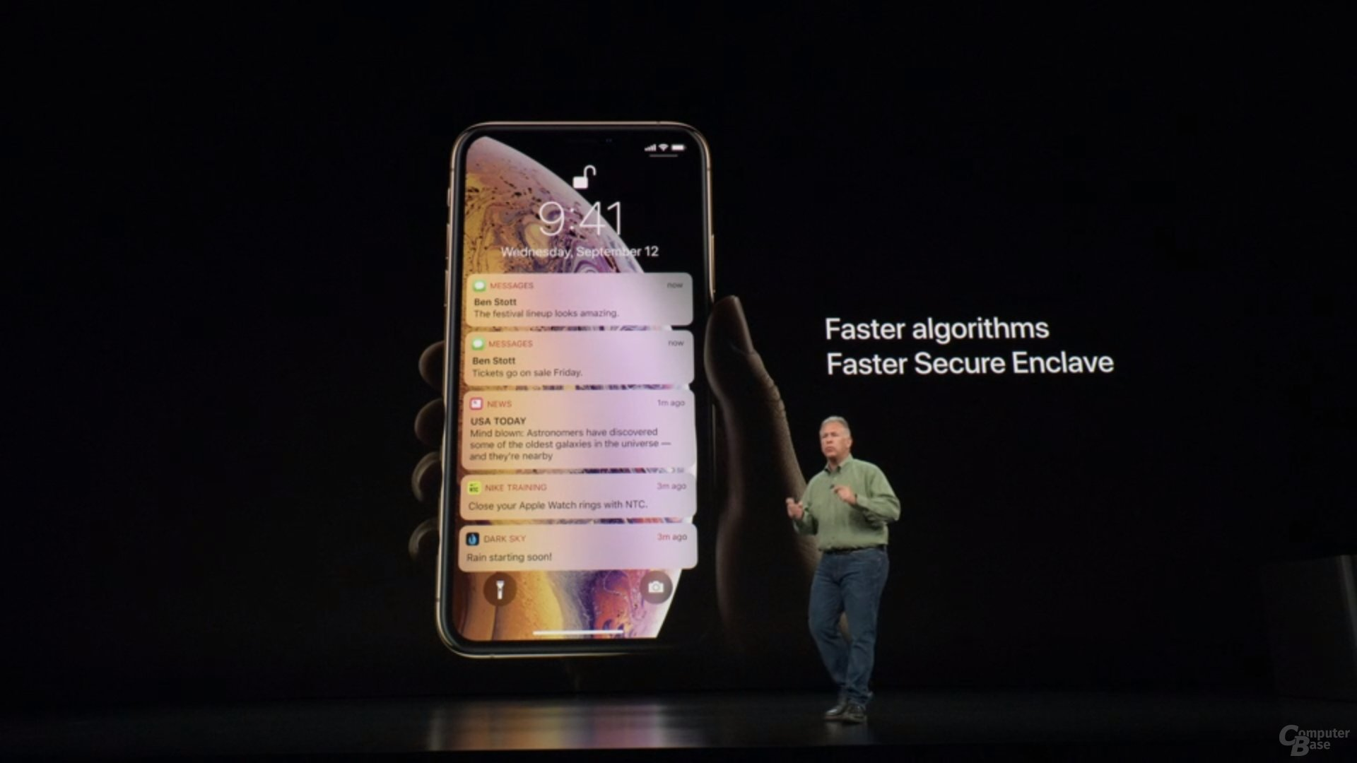 Apple iPhone Xs & Xs Max – Face ID mit gleicher Hardware schneller
