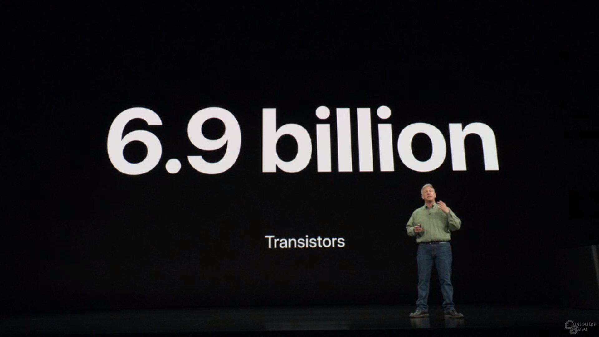 Apple iPhone Xs & Xs Max – A12 mit 6,9 Mrd. Transistoren