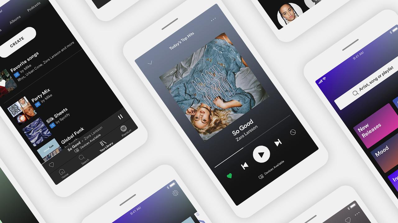 Spotify: Offline-Limit auf 10.000 Titel erhöht