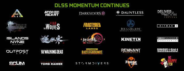 25 Spiele sollen DLSS unterstützen