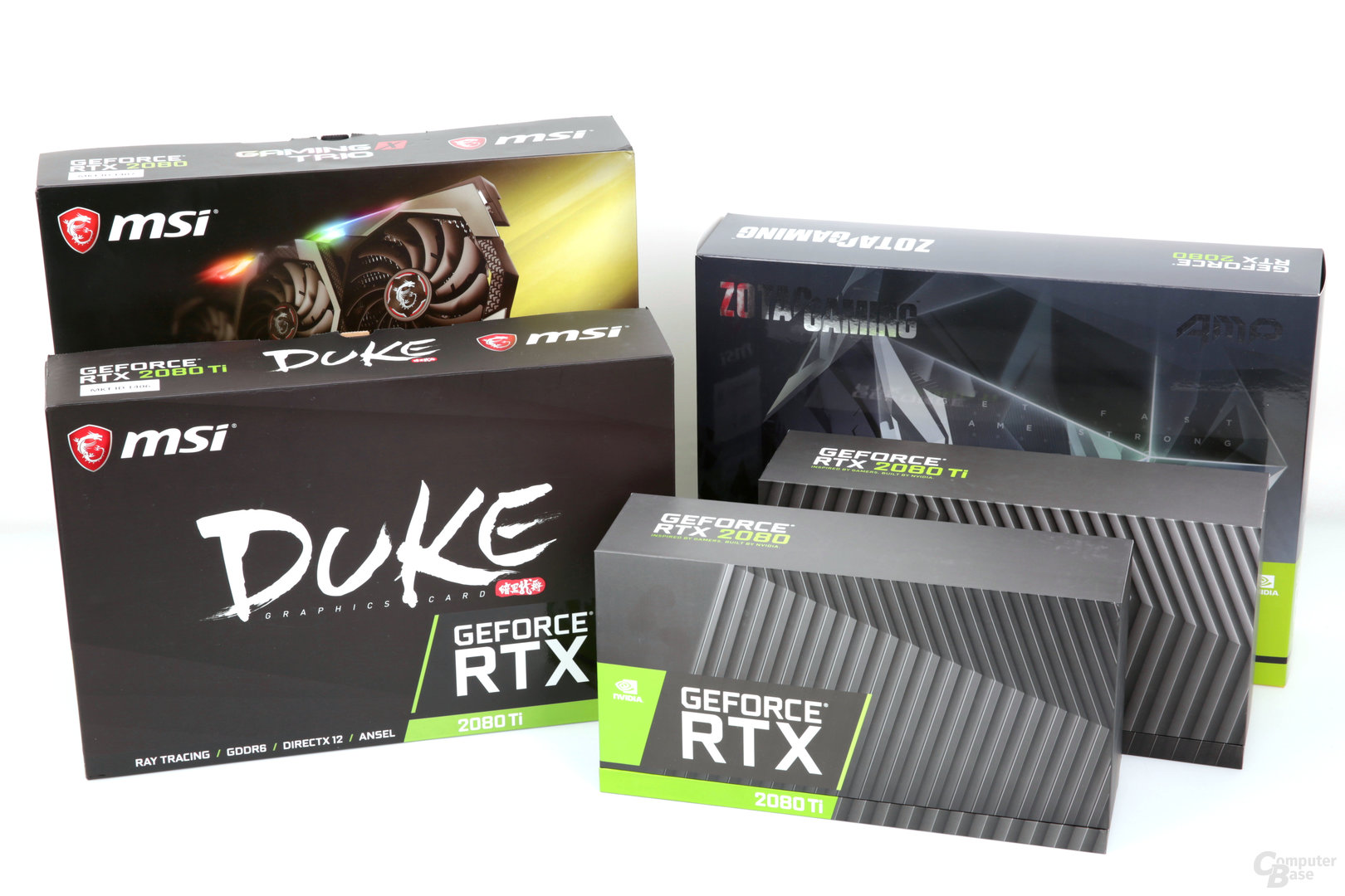 GeForce RTX 2080 (Ti) als Founders Edition und Custom Designs