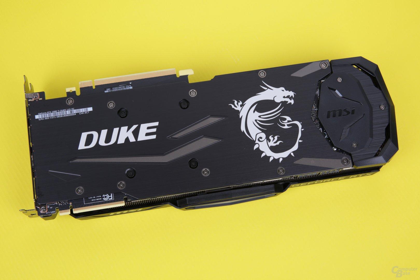 MSI GeForce RTX 2080 Ti Duke