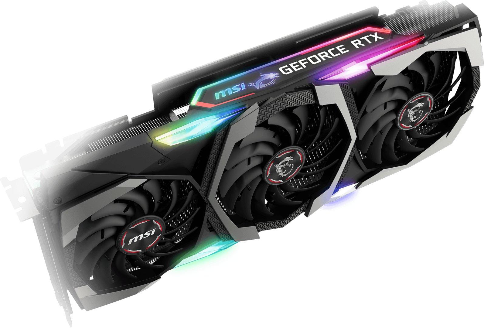 Die RGB-LED-Beleuchtung der MSI Gaming X Trio