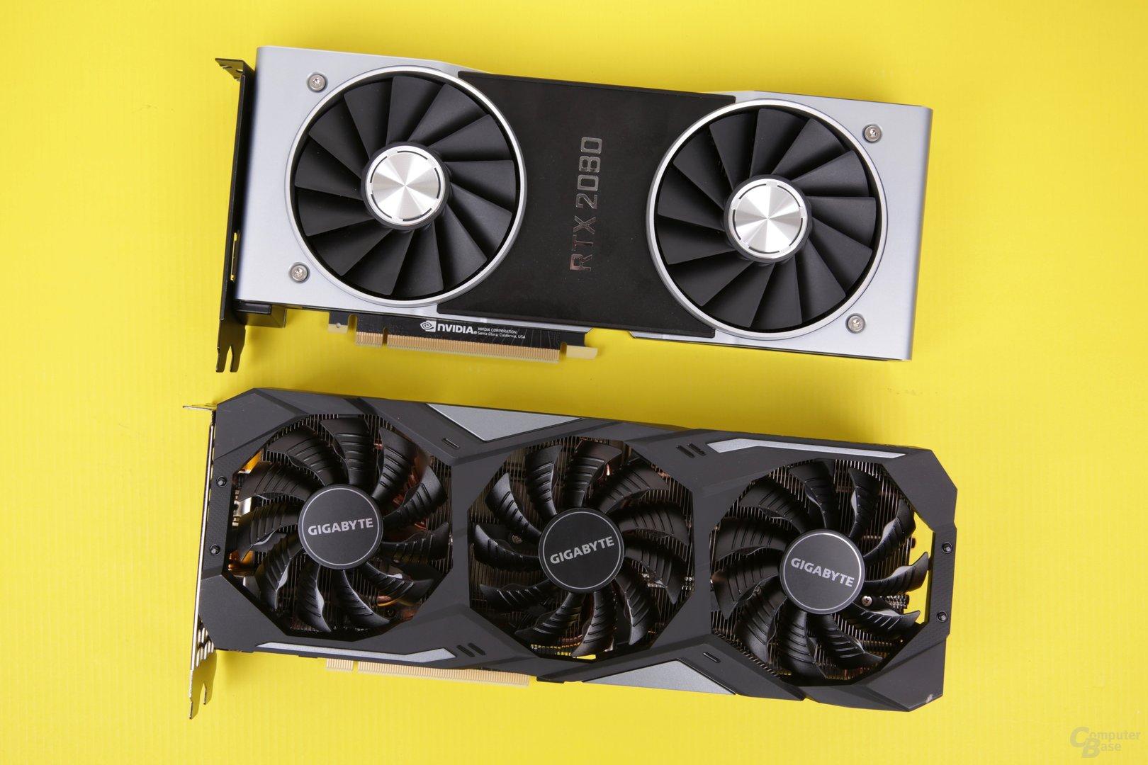 B11A1427Gigabyte GeForce RTX 2080 Gaming OC (unten)