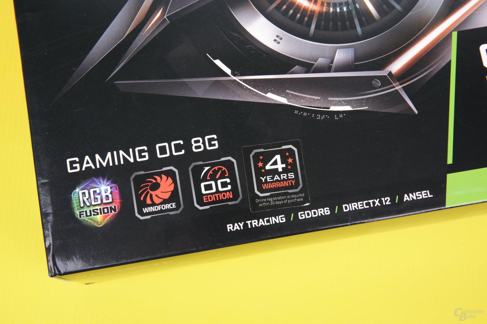 GeForce RTX von Gigabyte optional mit 4 Jahren Garantie