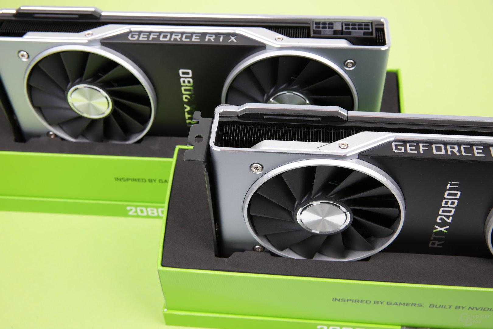 Nvidia GeForce RTX 2080 und RTX 2080 Ti im Test