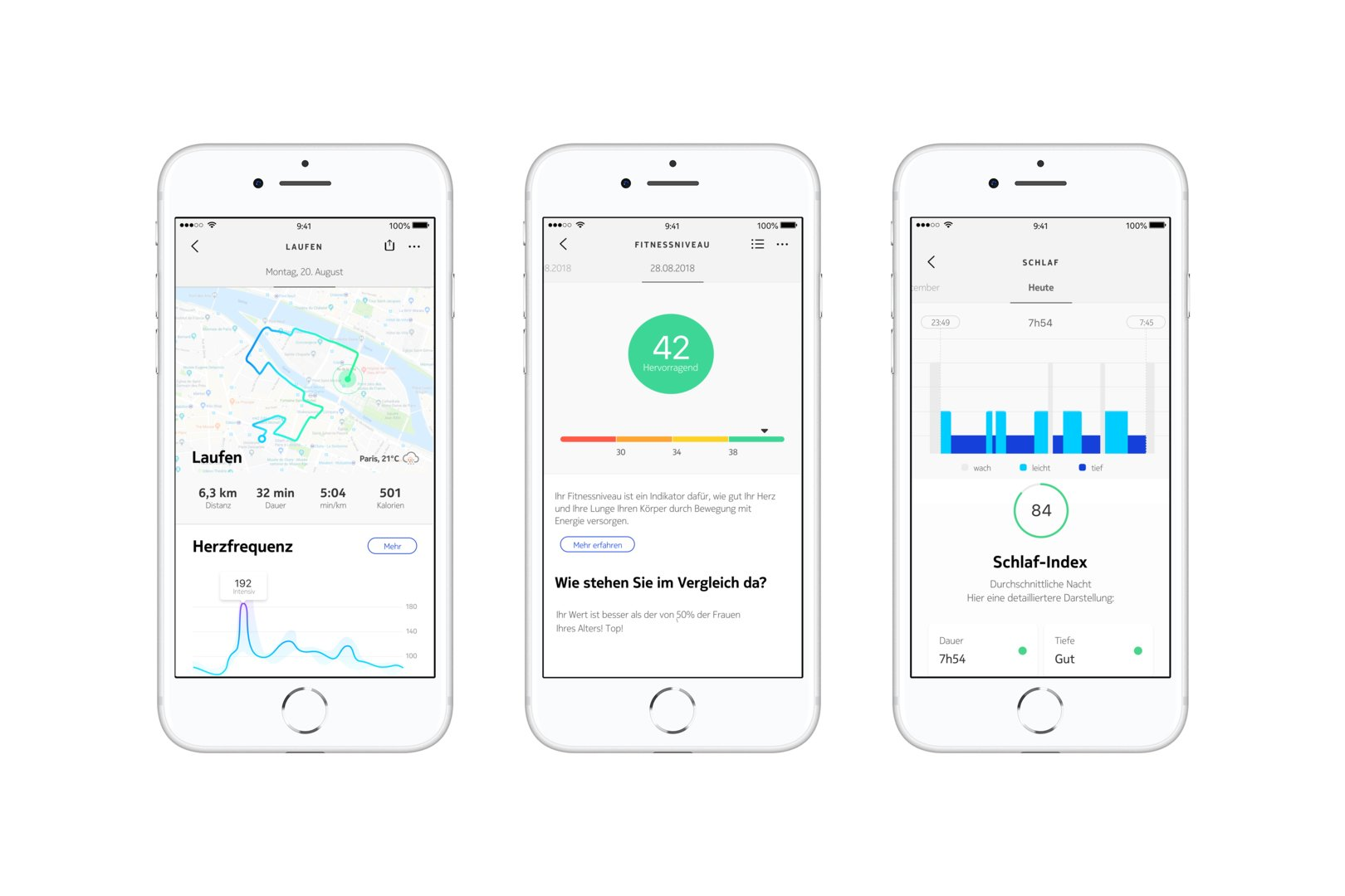 Withings Steel HR Sport: Erweiterte App