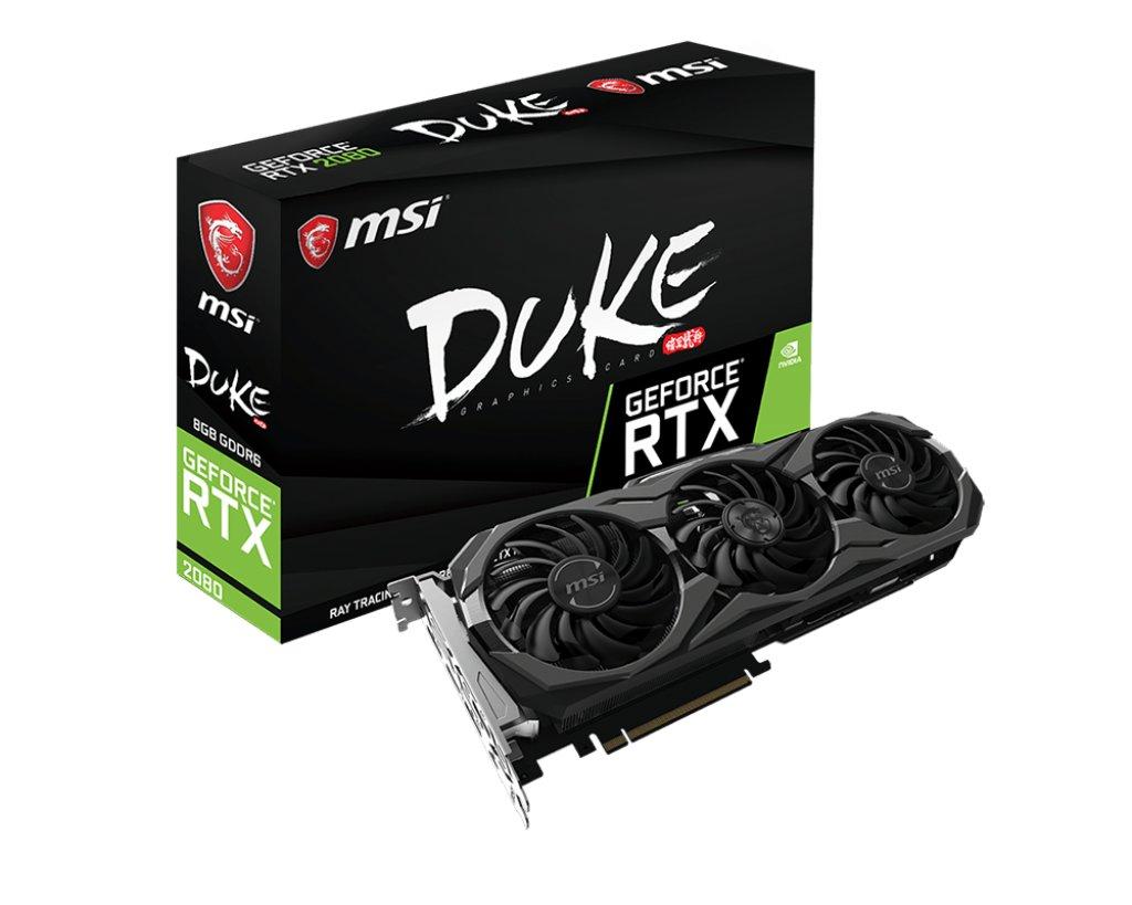 MSI GeForce RTX 2080 Duke 8G (OC)