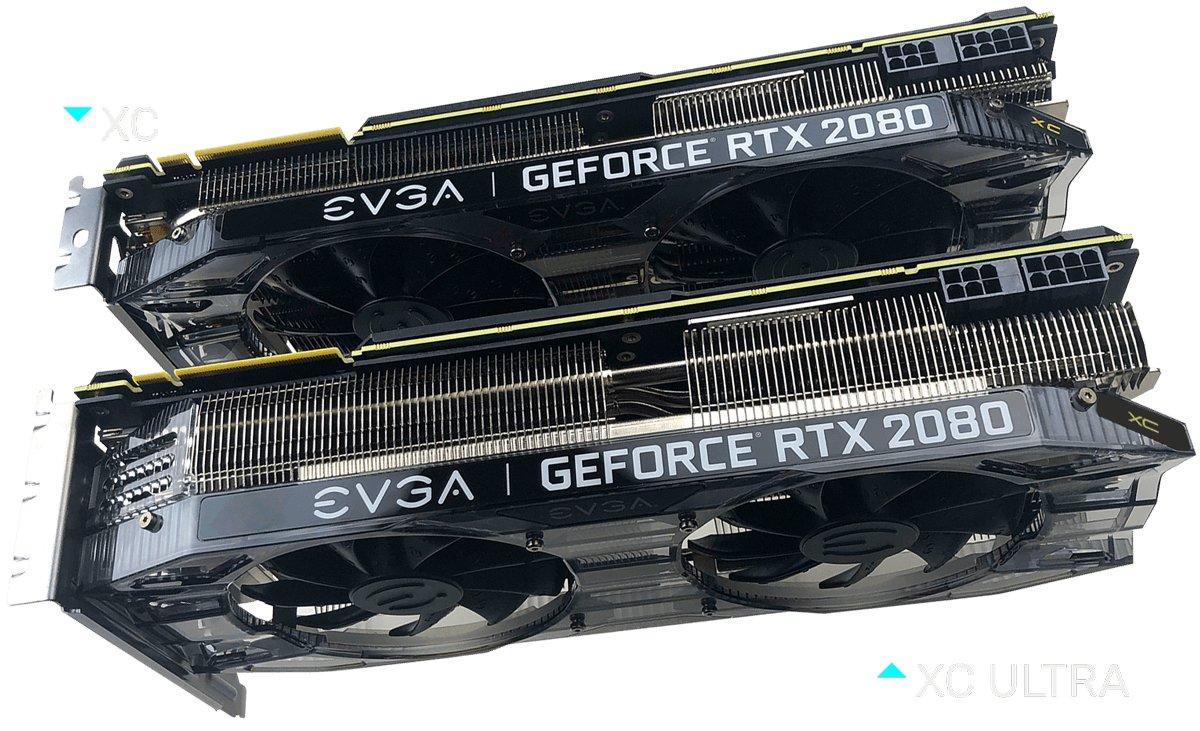 EVGA RTX 2080 XC Ultra mit breiterem Kühler
