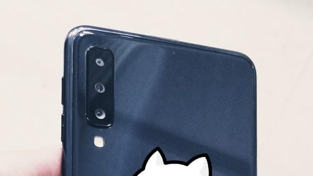 Galaxy A7 (2018): Neues Samsung-Smartphone mit drei Hauptkameras