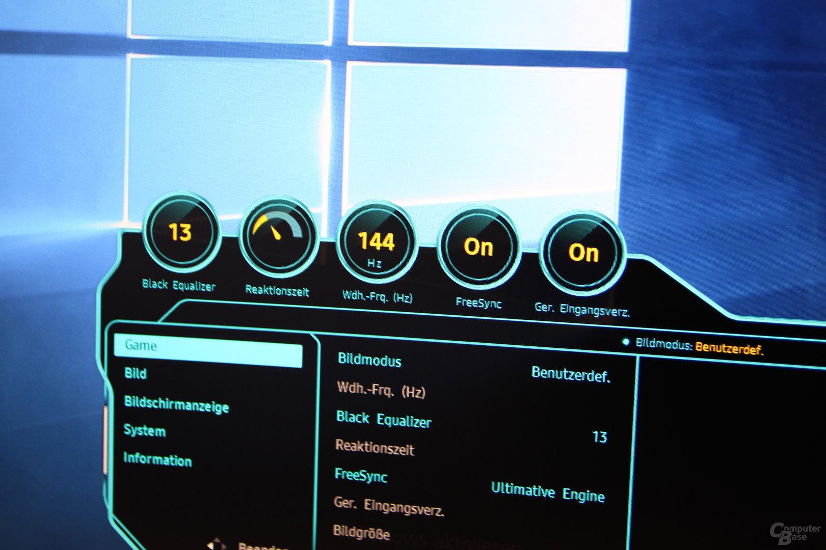 Samsung C32HG70 im Test - ComputerBase