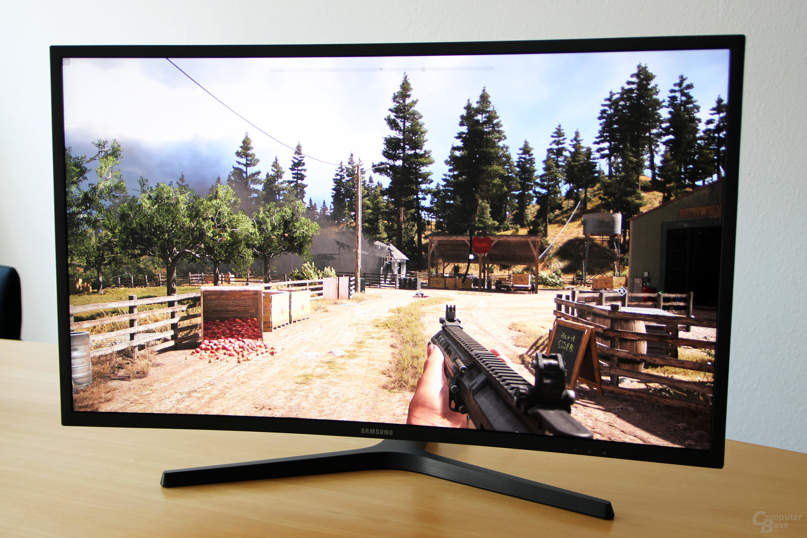 Samsung C32HG70 – Far Cry 5 mit HDR