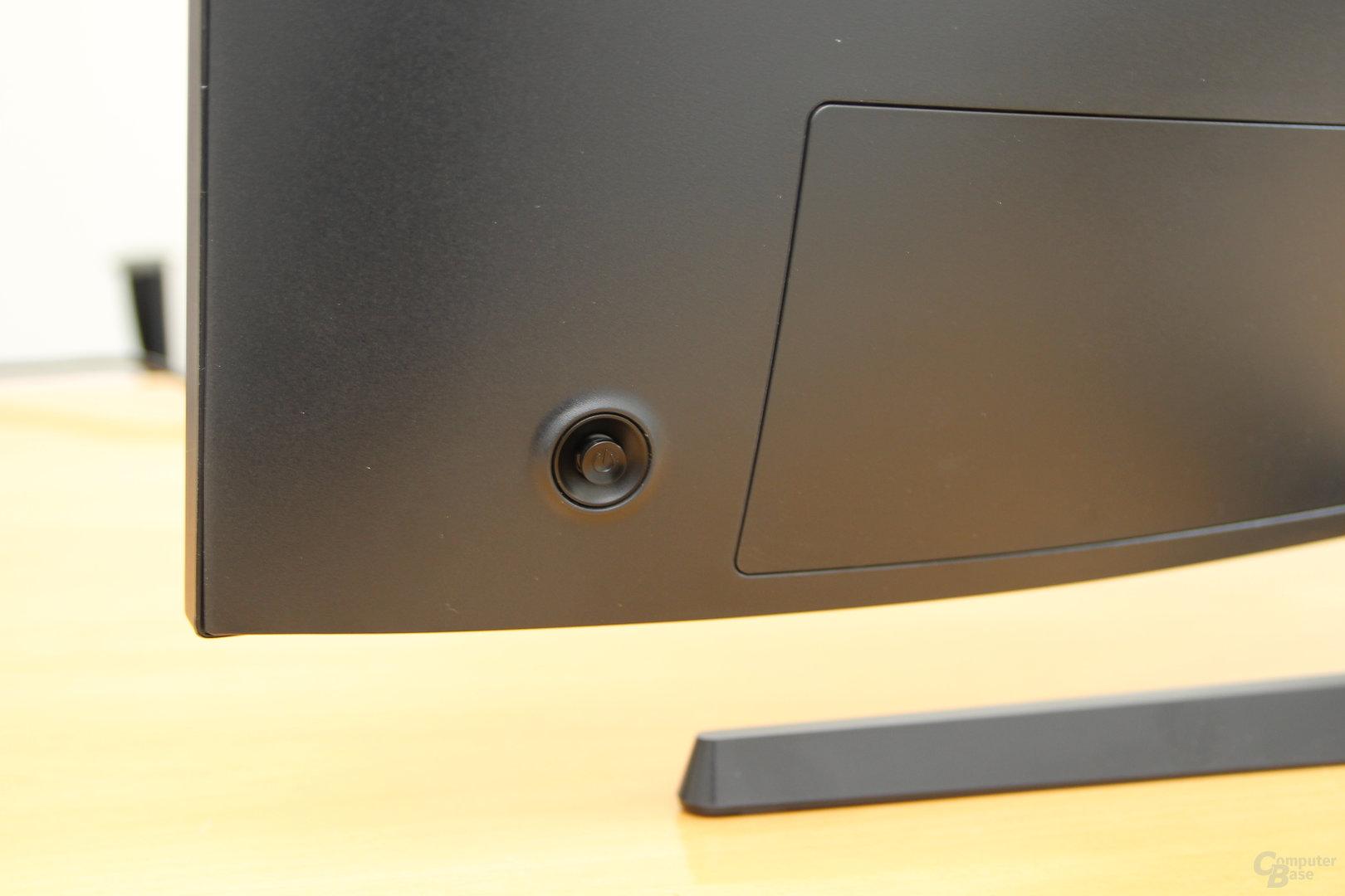 Samsung C32HG70 – Joystick für das OSD