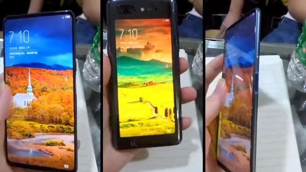 ZTE Nubia Z18S: Display-Sucher ermöglicht Selfies mit der Hauptkamera