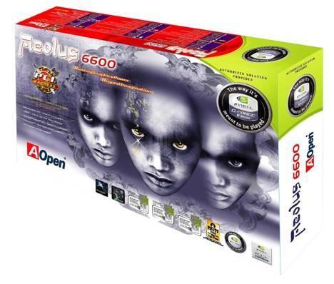 AOpen GeForce 6600-Serie