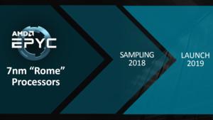AMD-Epyc-Prozessoren: Alle Wege führen nach Rome