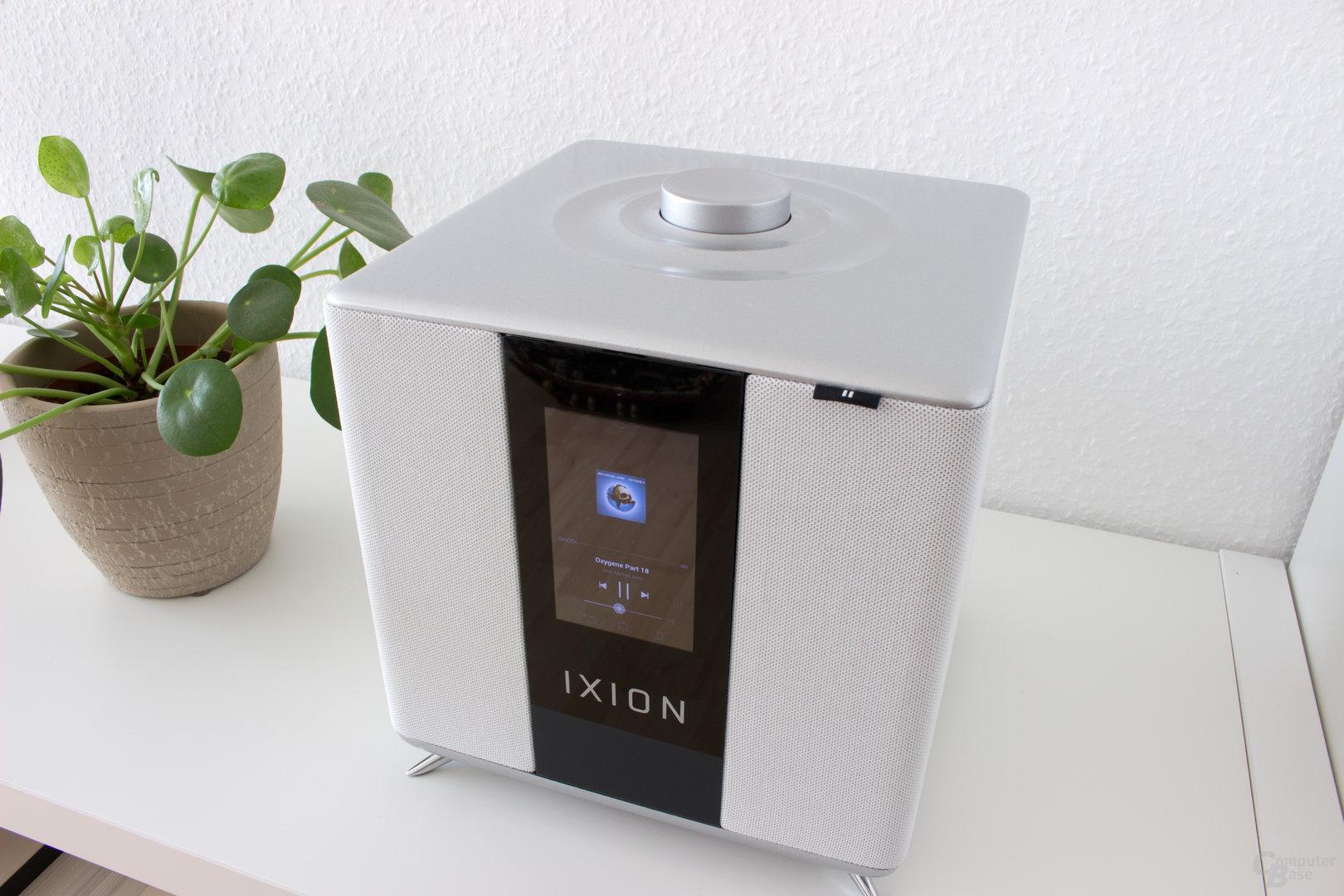Der Drehknopf dient beim Ixion Maestro nur zur Lautstärkeregulierung