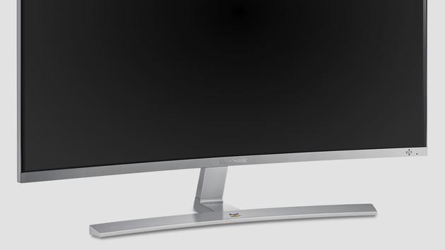 ViewSonic VX3216-SCMH-W: Gewölbter 32-Zoll-Monitor mit geringer Pixeldichte