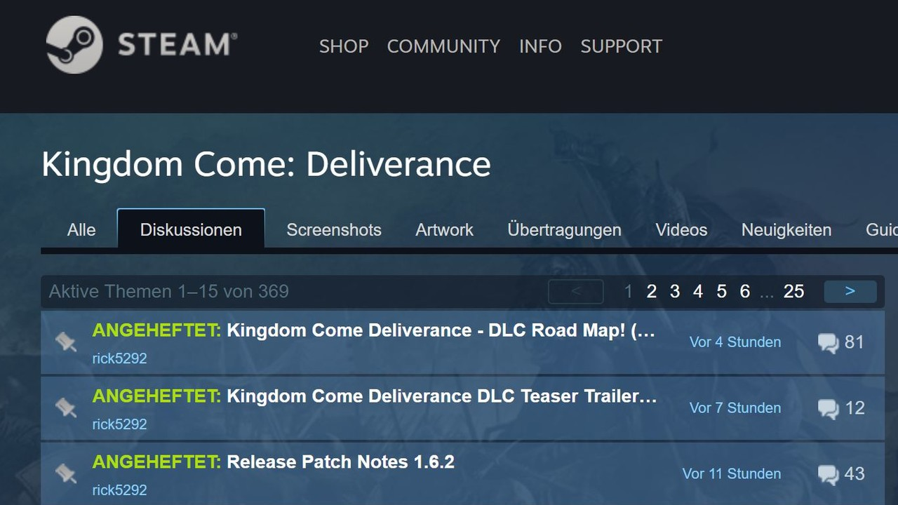 Steam: Valve moderiert Foren im Hintergrund