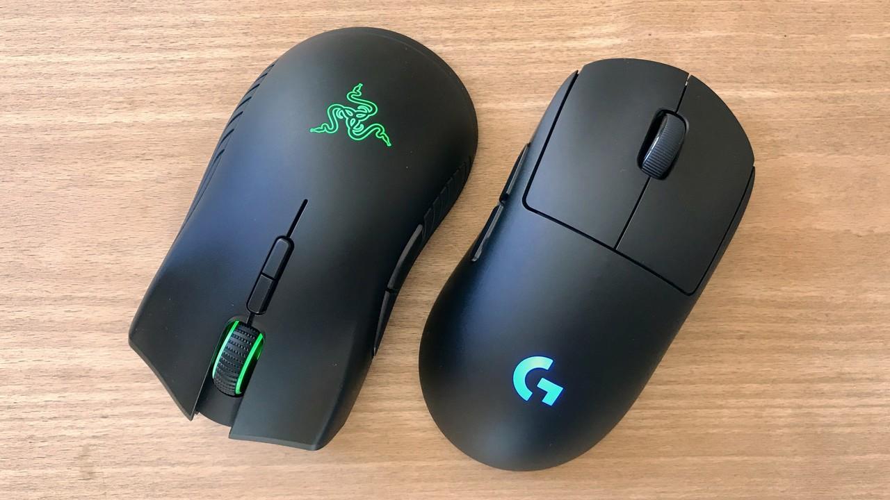 Drahtlose Gaming-Mäuse im Test: Logitech G Pro Wireless gegen Razer Mamba Wireless