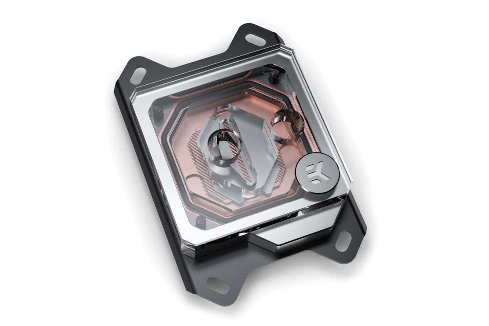 EK Water Blocks Velocity Copper + Plexi: AMD-Version