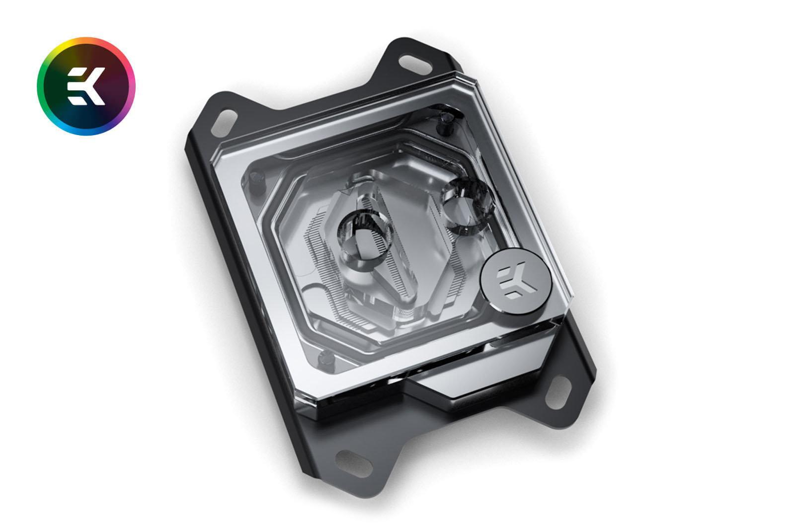 EK Water Blocks Velocity RGB Nickel + Plexi: AMD-Version