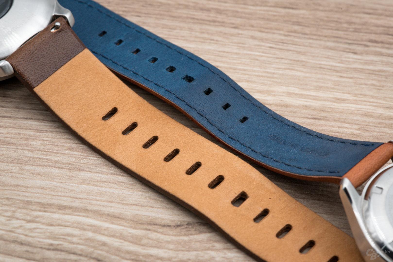 Kronaby Sekel: keine Einkerbung zum Armbandwechsel