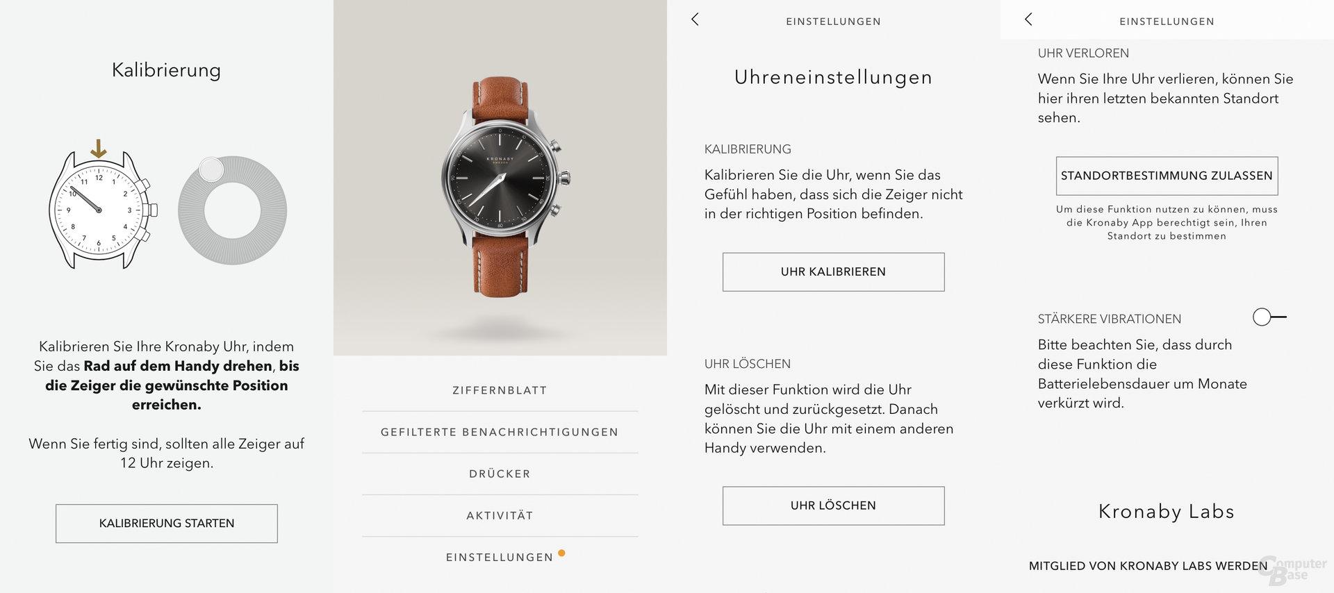 Kronaby Sekel: App