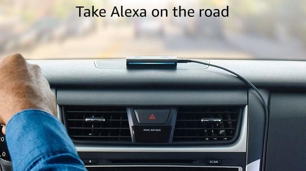amazon echo auto bringt alexa mit skills ins fahrzeug. Black Bedroom Furniture Sets. Home Design Ideas