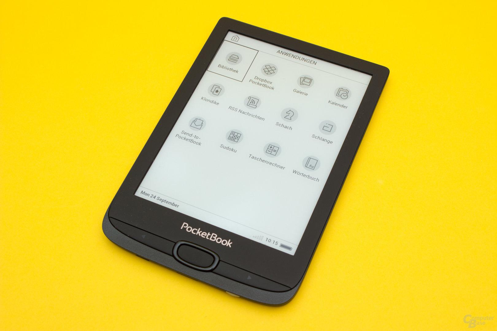 Der PocketBook Basic Lux 2 beherbergt eine große Anzahl zusätzlicher Tools