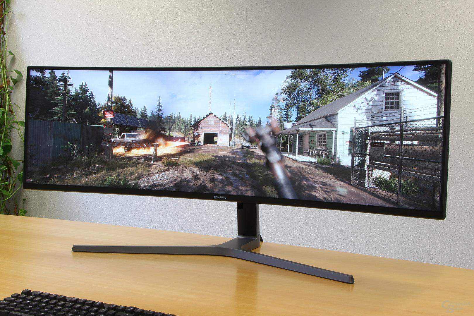 Samsung C49HG90 – 32:9 ist für Far Cry 5 kein Problem