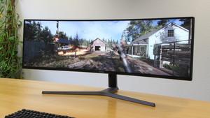 Samsung C49HG90 im Test: Ultrabreite, gekrümmte 49 Zoll überzeugen beim Spielen
