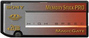 Memory Stick Pro High Speed