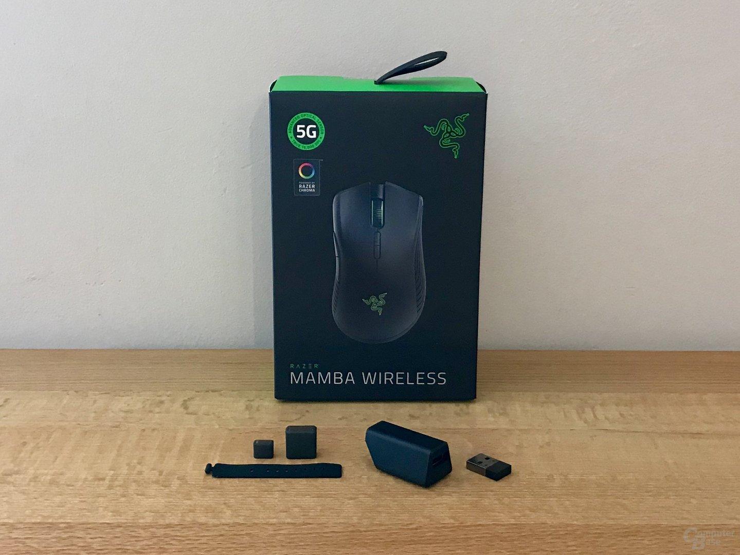 Lieferumfang der Mamba Wireless