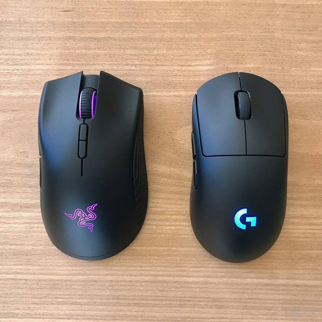 Mamba Wireless und G Pro Wireless