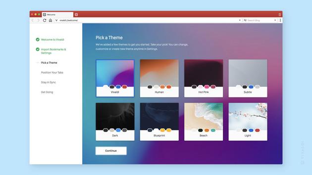 Browser: Vivaldi 2.0 synchronisiert erstmals die Nutzerdaten