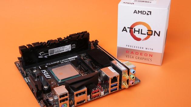 Athlon 200GE im Test: AMDs 50-Euro-Herausforderer für den Intel Pentium G