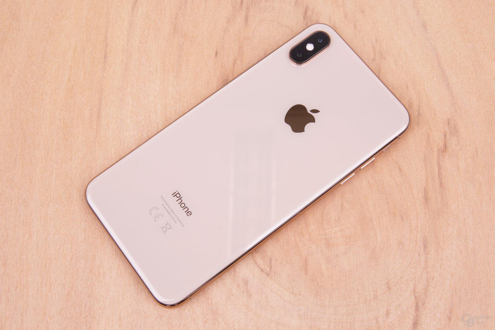 iPhone Xs Max in neuem Gold