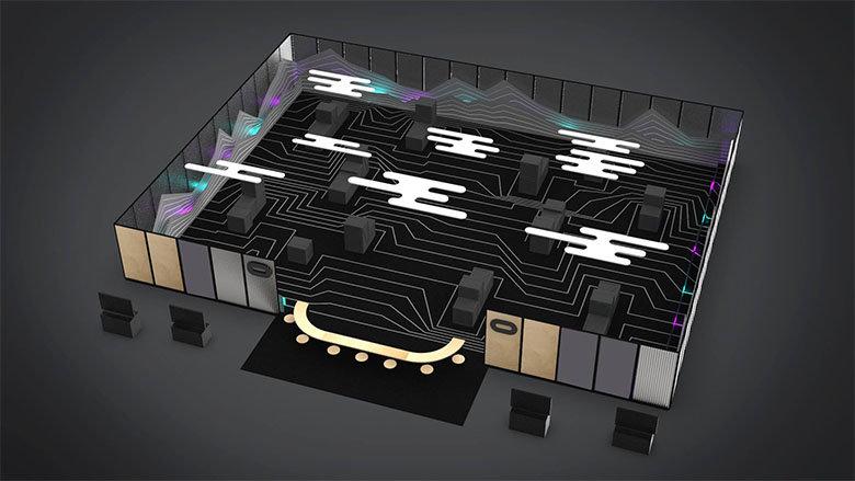 Arena-Scale Layout der Dead & Buried Demo auf der Oculus Connect 5